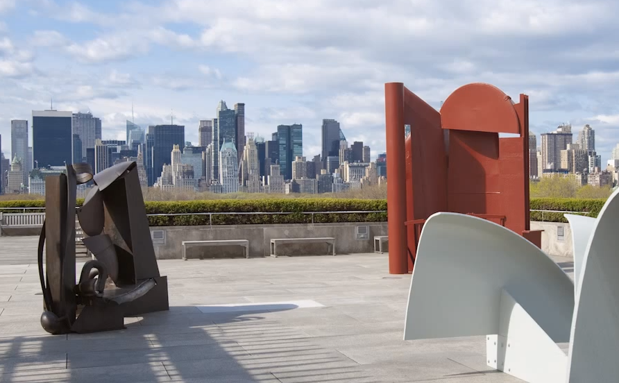 Sculptor Anthony Caro