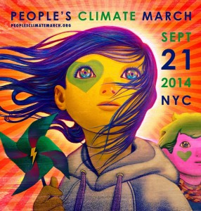 Climate March Poster Design Contest Winner - Winds of Change